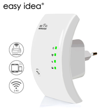 EASYIDEA 무선 WIFI 리피터 300 Mbps Wifi Extender 2.4G Wi Fi 증폭기 Wi-Reapeter 802.11n Access Point Signal Booster(China)