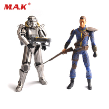 PVC action figure 8 Power Armor Lone Landerer out of clothing toys gifts for kids and collections brinquedos action figures motivation and action