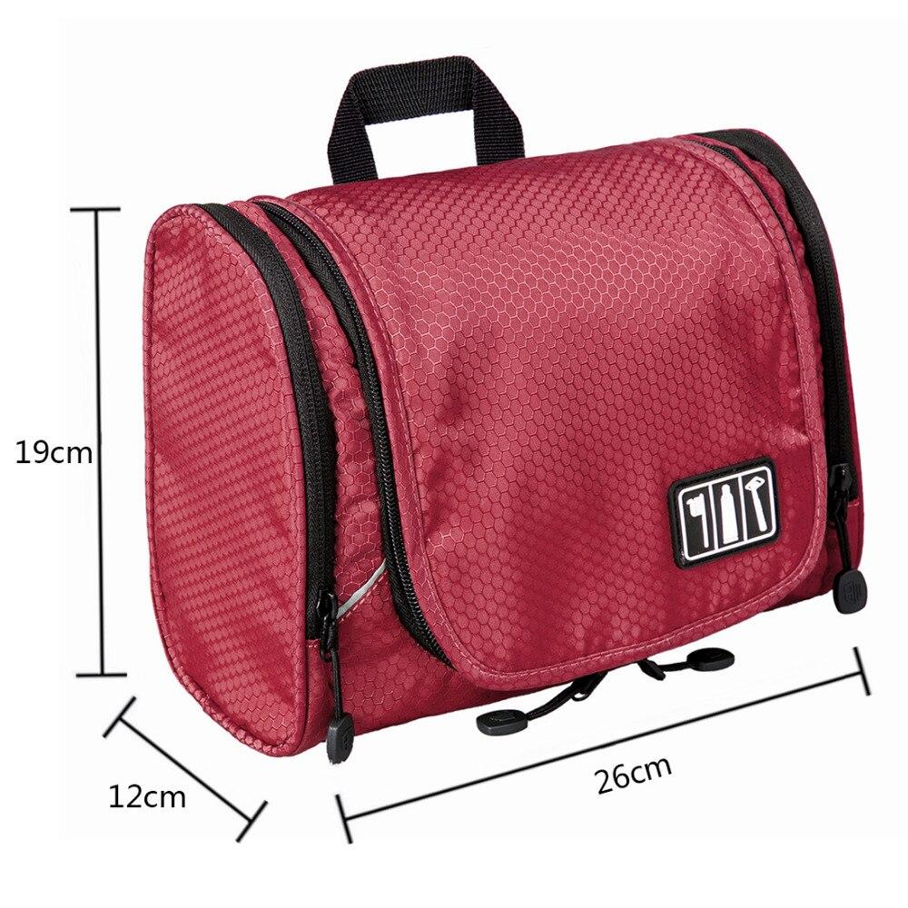 0546b7912a WORTHFIND Multifunction Travel Toiletry Bag Unisex Makeup Handbag Cosmetic  Bag Large Capacity Cosmetic Bag Travel Organizer Bag-in Travel Bags from  Luggage ...