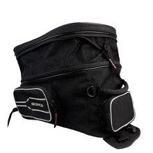 YUANMINGSHI Waterproof Motorcycle Tank Bag Helmet Motor Saddle Luggage Bike Fuel Bags