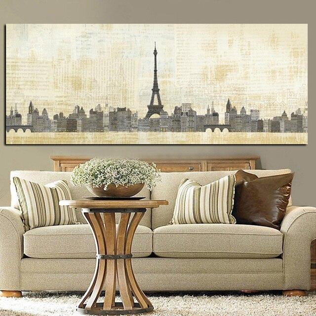 Hd Drucken Zusammenfassung Paris Effiel Turm Französisch City
