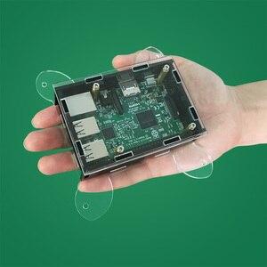Image 5 - Transparent Acrylic Case Cover Shell Enclosure Box for Raspberry PI 3 /Model B +/ Model B (NO Raspberry PI Board )