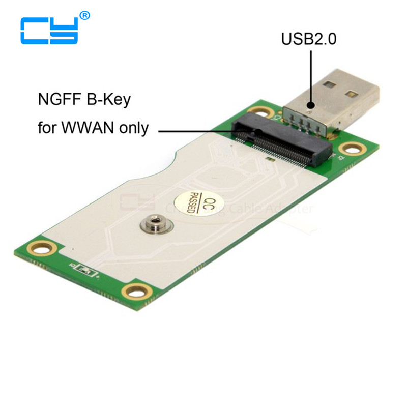 все цены на M.2 NGFF Wireless WWAN to USB Adapter Card with SIM Card Slot Module Testing Tools