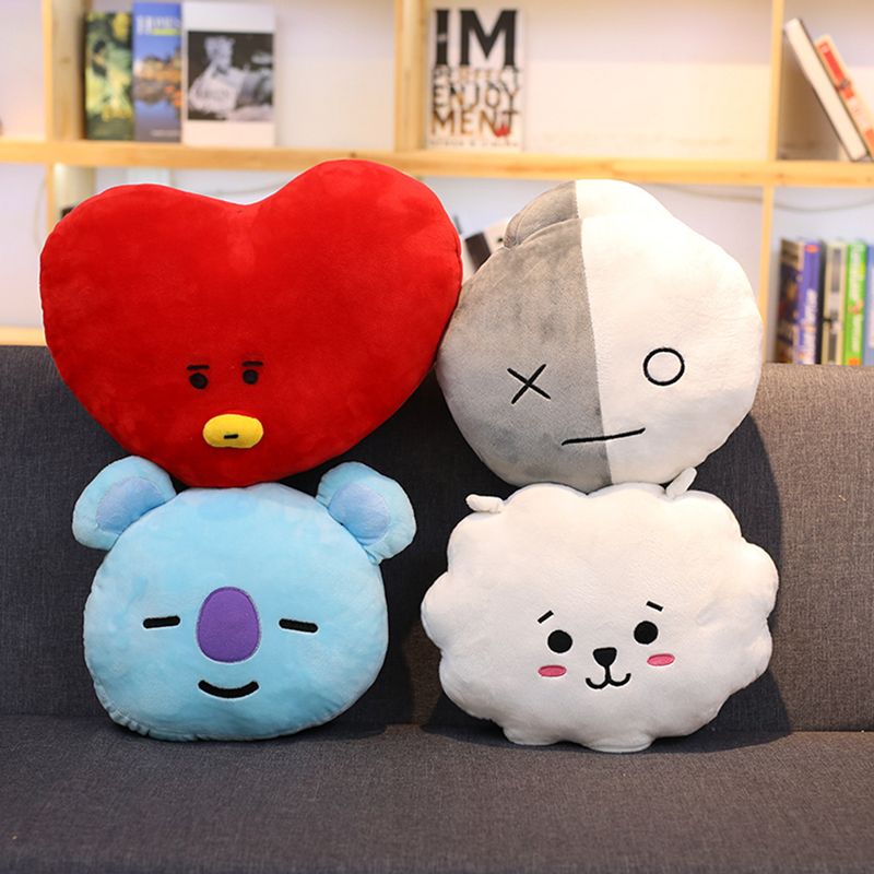 fd303dfcc0f0 New Kpop ARMY Bangtan Boys BTS BT21 Vapp Pillow Warm Bolster Cute Plush  Doll Korean KOYA TATA COOKY CHIMMY VAN SHOOKY RJ MANG-in Hoodies    Sweatshirts from ...