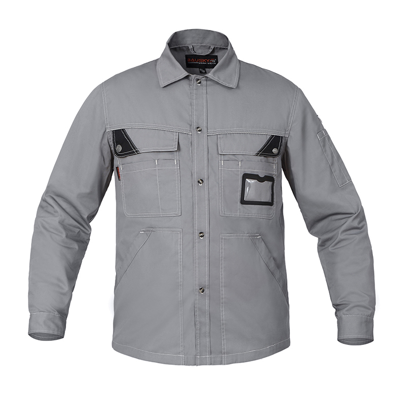 Men Workwear Jacket Long-sleeved Thin Summer Work clothes uniforms Male Labor-resistant Tooling Auto repair Working Jackets  Men Workwear Jacket Long-sleeved Thin Summer Work clothes uniforms Male Labor-resistant Tooling Auto repair Working Jackets