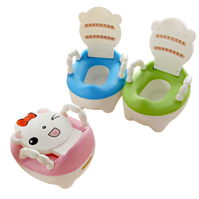 Baby Potty Toilet Portable Cartoon Baby Car Potty Child