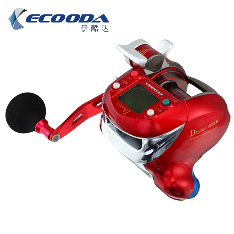 ecooda 7000lb electric reel fishing vessel fish boat fishing reel saltwater ocean fishing reel fishing reel