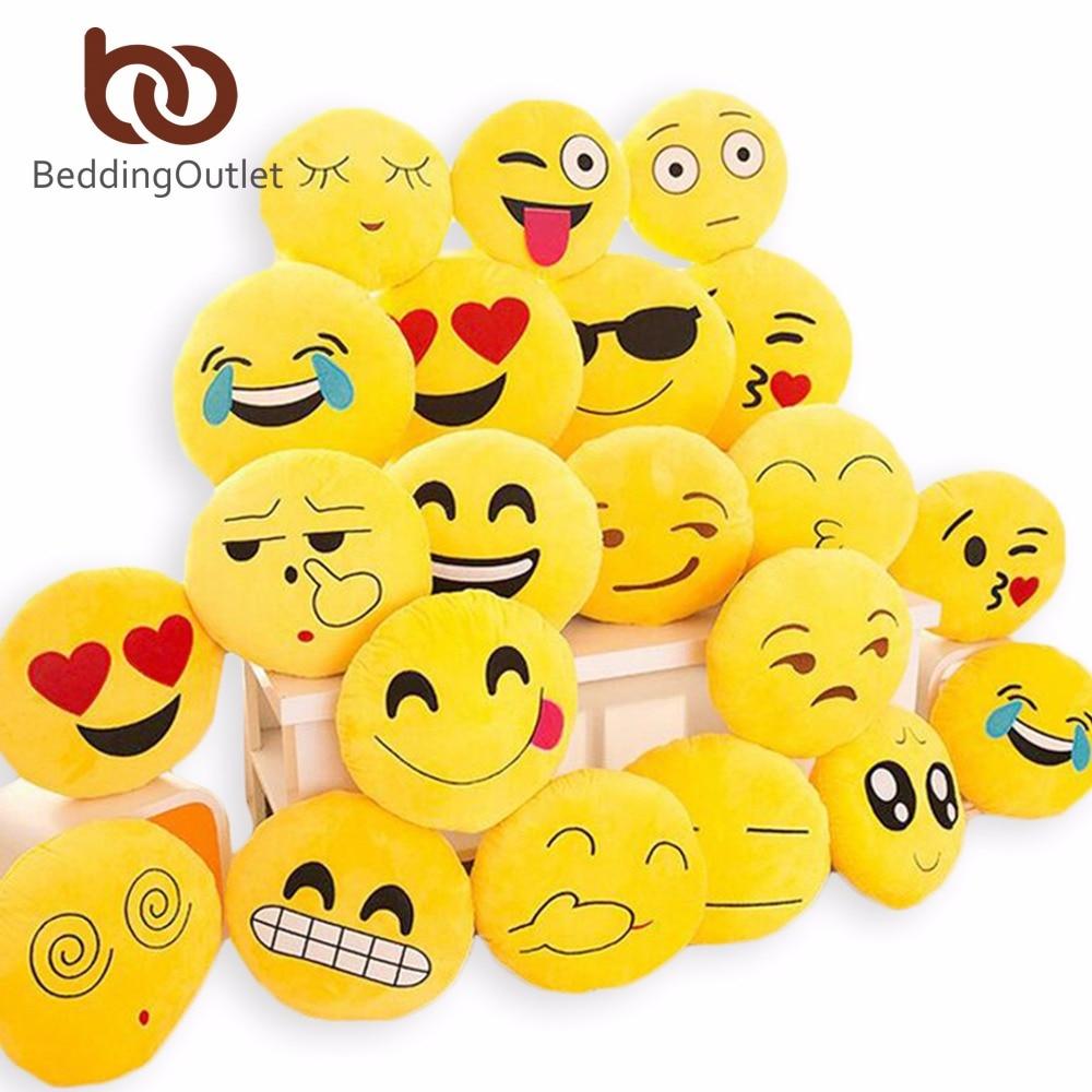emoji подушка Смайлик