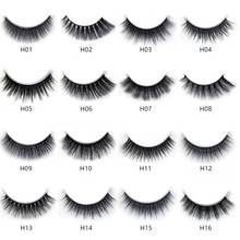 3d Mink Extension Makeup False-Eyelashes Different-Styles Fluffy Natural 13 5-Pair100%Real