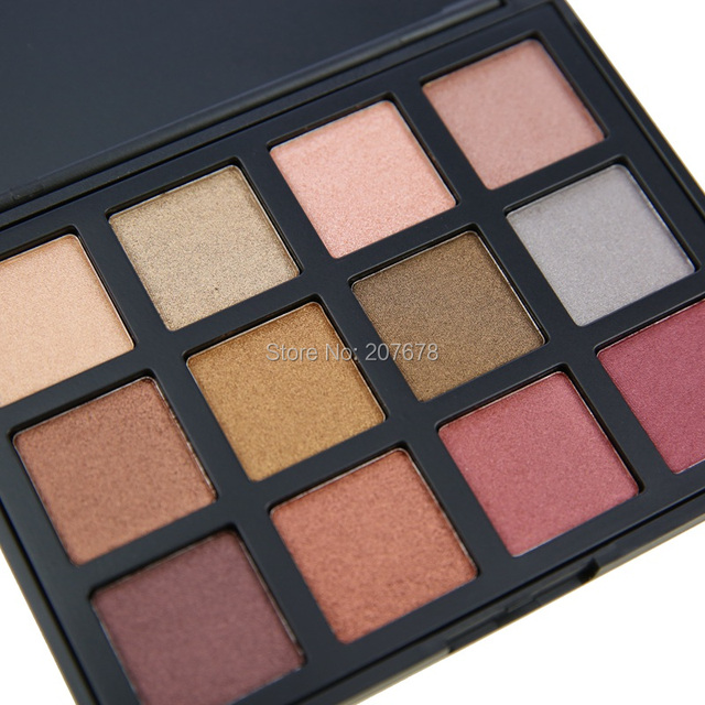 12 Color Eyeshadow Palette Glitter Natural Eye Shadow