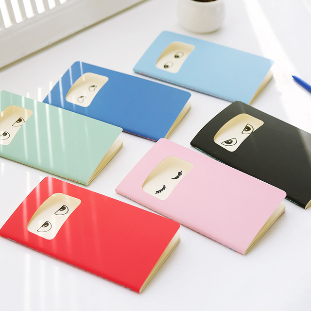 Free Delivery Of 6 Cute Little Notebook Car Line Book Write Books Stationery Office Memo Pad