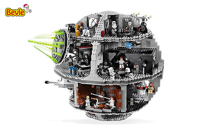 LEPIN 05035 Star Wars Movie Death Star Dianoga Trash Model Building Block Toys Compatible With Legoe Star War 10188 lepin 22001 pirate ship imperial warships model building block briks toys gift 1717pcs compatible legoed 10210