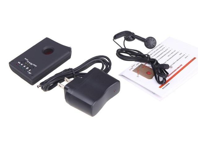 Multi function Detectable RF / LENS Detector Full Range Wireless Camera GPS Spy Bug RF Signal GSM Device Finder 3