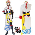 Kagura cheongsam cosplay costume Japanese anime Gintama finale Movie Future clothing