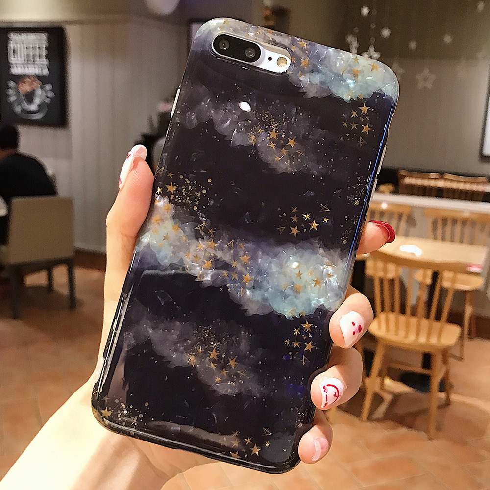 KIPX1120_12_JONSNOW Glitter Phone Case For iPhone X XR XS Max Cases Soft TPU Back Cover For iPhone 6S 6P 7 8 Plus Cover Case