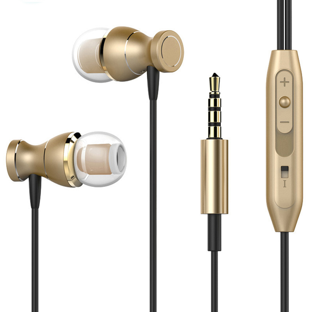 Bereidwillig Jrgk Sport Oordopjes 3.5mm Jack Oortelefoon Transpiratie Stereo Bass Muziek Magneten Headset Met Microfoon Voor Samsung Iphone Oordopjes