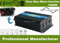 Pure Sine Wave Inverter 1000 Watt DC12V AC110V 60Hz USA socket Sold to USA Brazil or Mexico