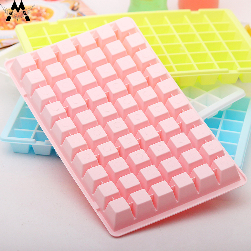 60 Grids DIY Creative Small Ice Cube Mold Square Shape Plastic Tray Fruit Maker Bar Kitchen Accessories 2019 New