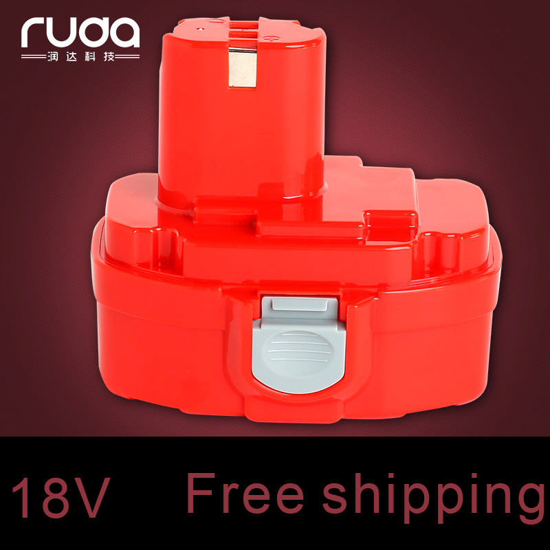 for Makita MAK 18v 1300mAh power tool battery 1822/1834/192829-9/192827-3/193159-1/1823/193140-2/193102-0/192826-5/ PA18