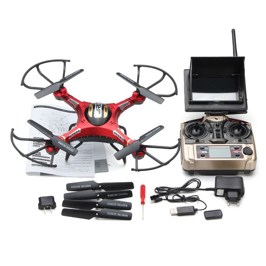 JJRC H8D 2.4Ghz 5.8G FPV RC Quadcopter Headless Mode One Key Return Drone with 2MP Camera FPV Monitor LCD NEW RTF VS V686G H9D jjrc h12wh wifi fpv with 2mp camera headless mode air press altitude hold rc quadcopter rtf 2 4ghz