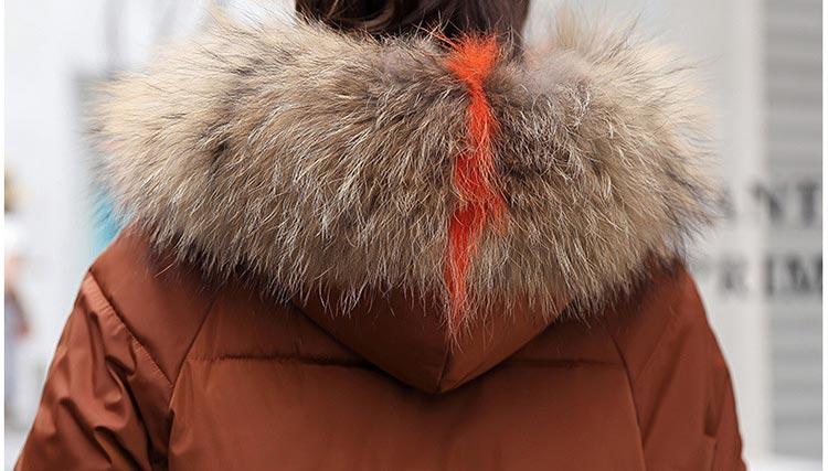 Winter jacket women 2019 fashion women winter coats fur collar hooded zippers long female coat warm casual tops women coat
