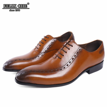 BROWN LUXURY GENUINE LEATHER BREATHABLE MEN'S LACE UP WEDDING SHOES HIGH QUALITY POINTED TOE CASUAL MALE  FLATS SUMMER SHOES MEN 2017 new arrival high quality genuine leather luxury brand summer men casual shoes breathable holes black brown khaki