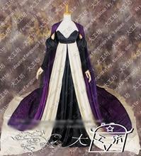 Sailor moon queen nehellenia музыкальные организуем косплей костюм великолепная партия dress хэллоуин равномерное наряд на заказ