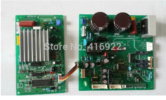 95% new good working for Panasonic refrigerator BCD-265 pc board Computer board AE00N144 AE00N145 set on sale 95% new for haier refrigerator computer board circuit board bcd 219bsv 229bsv 0064000915 driver board good working