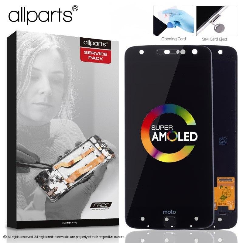 AMOLED LCD D'origine Pour Motorola Moto Z Affichage Écran Tactile Digitizer Remplacement pour Moto Z Affichage XT1650 XT1650-03 LCD