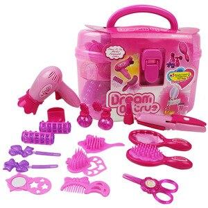 Image 2 - 女の子おもちゃ化粧品ふりプレイセット理髪化粧品美容のための開発ゲーム