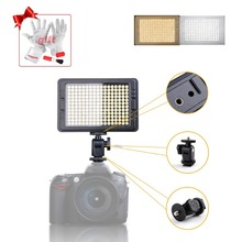 204 PCS Beads LED Fill Light  Video Studio Camera Photo Light 12W 3200K/5500K w/ 1-99 Stepless Adjustment for Camcorder P0022931