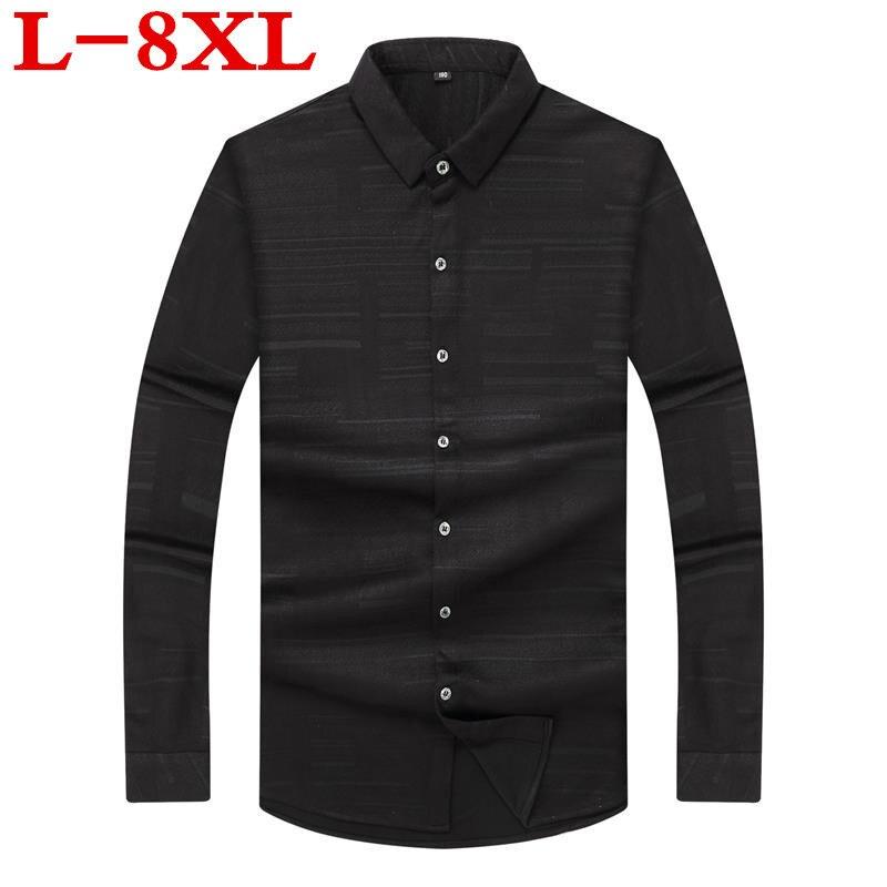 0d58ae94d6 8XL-7XL-plus-la-taille-Marque-chemise-D-t-Carreaux-Hommes-Slim-Fit-chemise-Manches-Longues.jpg