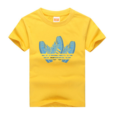 2017 New Arrival Kids Brand Clothes Summer Baby Boys Short Sleeve T-shirt 100% Cotton Girls Casual Sports Tops&Tees Unisex Shirt