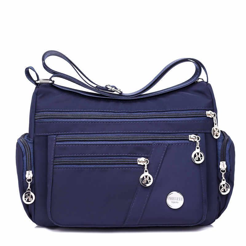 Shoulder Bag for Women Waterproof Shopping Lightweight Work Purse and Handbag Travel Tote Oxford Nylon Large Capacity Hobo