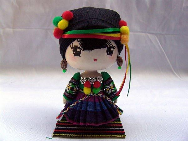 Toys For Minorities : The cutest cartoon handicraft girl wooden doll best
