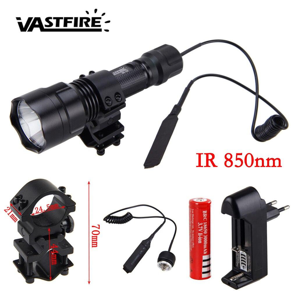 5w IR 850nm Night Vision Lanterna à