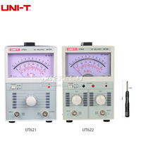 UNI T UT621 UT622 AC Millivoltmeter Analog Voltage Digital Voltmeter Analog Multimeter 100uV 300V Meter Pointer Display