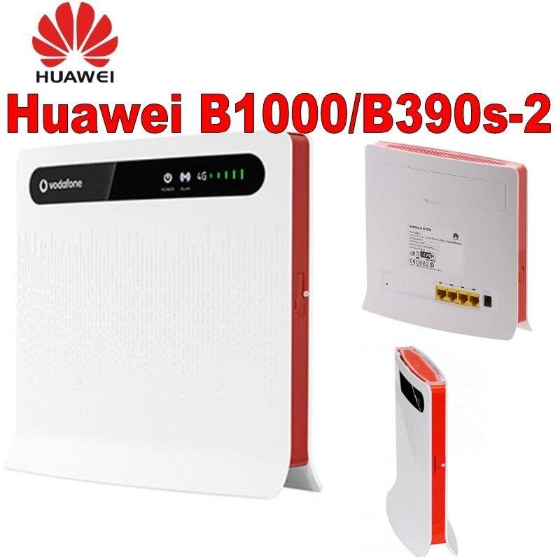 Lot de 50 pcs Vodafone B1000 Huawei B390s-2 LTE FDD800Mhz Cat3 routeur de passerelle sans fil Mobile