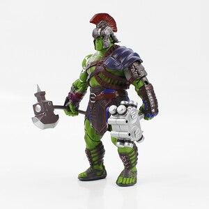 21,5 см Мстители Тор 3 Ragnarok боевой молоток боевой топор Гладиатор Халк BJD ПВХ фигурка Коллекционная модель игрушки
