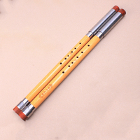 Detchable Chinese Vertical Flut Bawu Transverse Flute Pipe Musical Instrument in G Key for Beginner Music Lovers as Gift