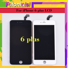 10pcs/lot 5.5 Display For APPLE iphone 6 Plus 6S Plus LCD Screen Pantalla monitor Display Touch Screen Digitizer LCD Replacement 10pcs lot grade highscreen aaa for iphone 6 plus lcd display digitizer assembly pantalla iphone6 plus replacement free dhl