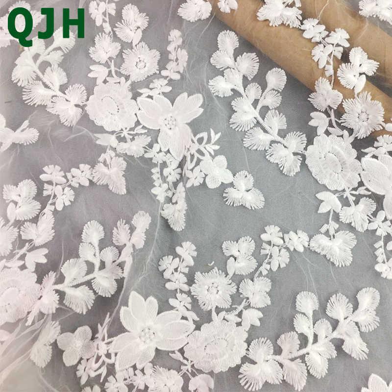 قماش بوليستر أبيض من كرنكل شيفون قابل للغسل 100 من ألياف البوليستر