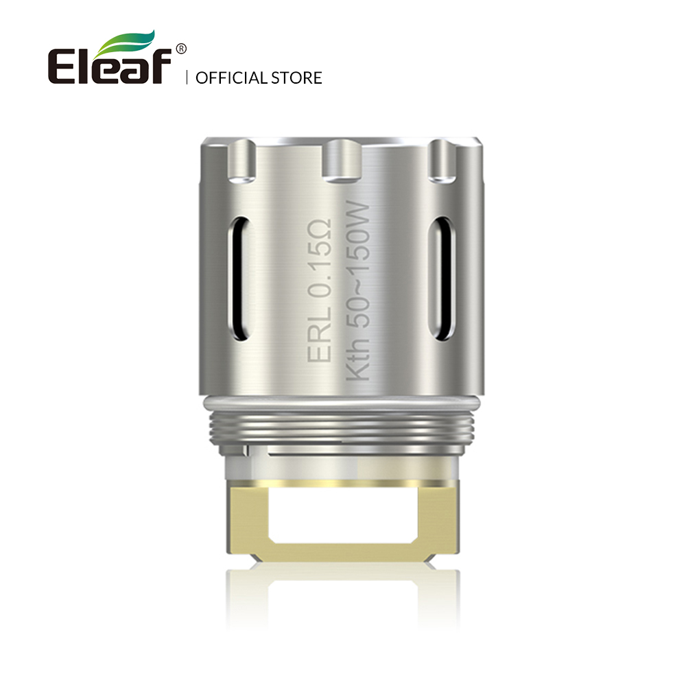 5pcs/lot Original Eleaf ERL 0.15ohm Head Coil For Melo RT 25 Atomizer 50-150W Vape Coil Electronic Cigarette