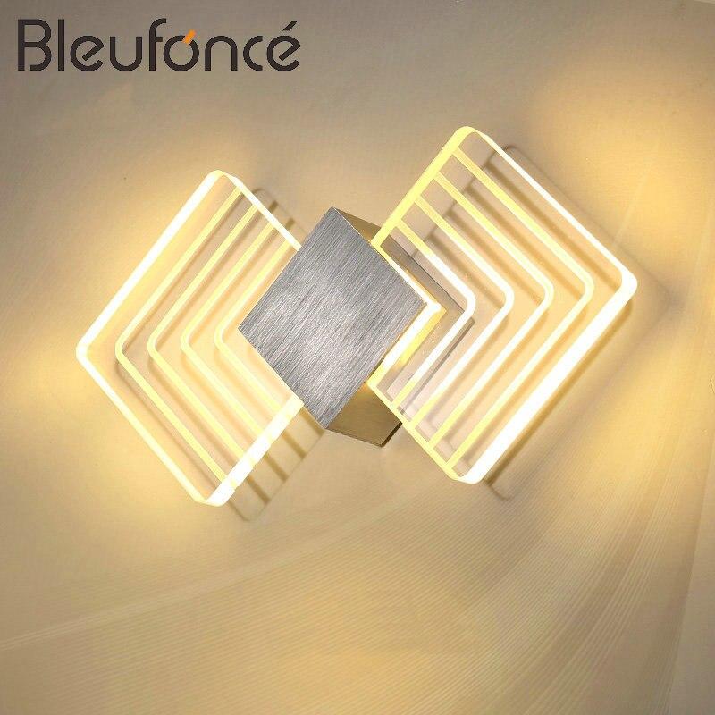 Moderne Led Mur Lampe AC110V/220 V Applique LED Acrylique Mur Lampe mur Monté 3 W 6 W Baguette lampe Salle De Bains Lampe éclairage Intérieur BL178