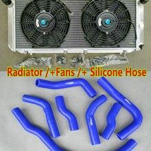 Алюминиевый радиатор для Toyota MR2 MK2 SW20 W20 REV1 REV2 REV3 3SGTE 2.0L Turbo 2.2L база I4 NA 1989-1999 MT+ Силиконовые вентиляторы шлангов