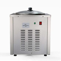 Ice Cream Maker360W,Commercial Ice fried machine,Single round pan Fried yogurt /drink/ice cream CB 801A