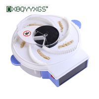 DXBQYYXGS 2019 Electric Solar energy Automatic Flycatcher fly trap pest reject control catcher mosquito flying fly killer insect