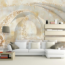 Beibehang Custom wallpaper, marble, 3D TV, sofa, background