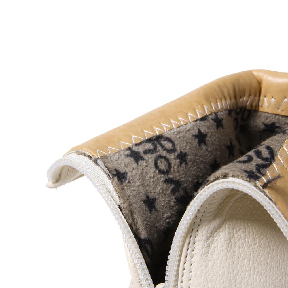 Sexy De Dedo white Xjrhxjr Mujeres Marca 2019 Tacón Vestido Cuero Tobillo Grueso Pu Nuevo Bombas Pie Zapatos Botas Beige Las Cortas Cuadrado Del black gxXq8wO