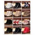 Mulheres quentes de Inverno Causal Sapatos Da Moda Isabel Alta Superior Botas de Couro Genuíno Altura Crescente Estrelas Famosas Botas de Tornozelo